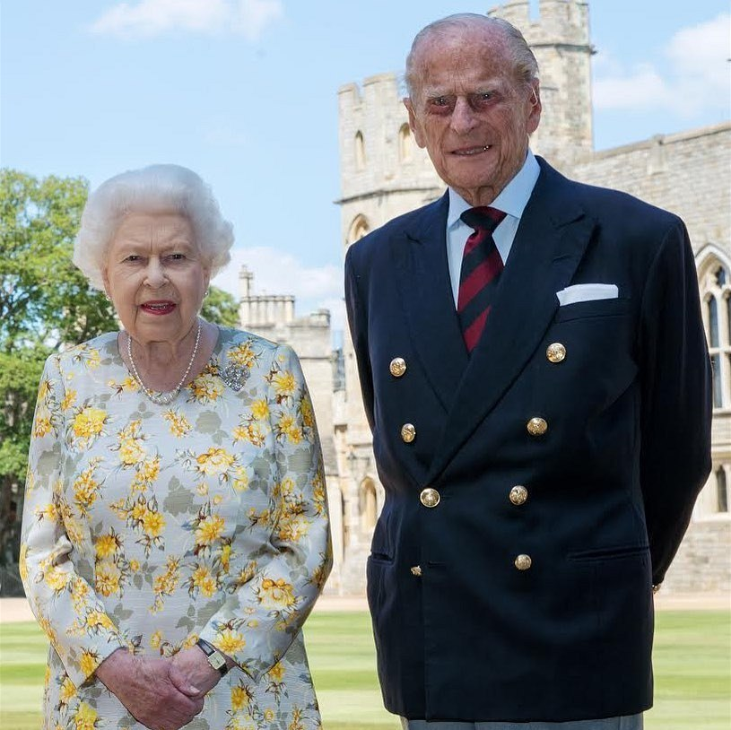 Philip celebrates his 99th birthday at Windsor Castle.