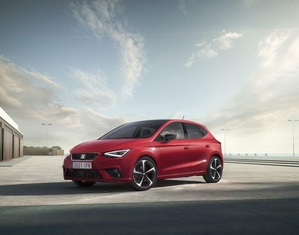 Seat Ibiza is coming after an update.  It looks refreshing, it is smarter and safer