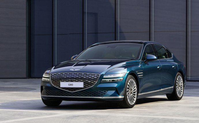 Genesis introduces its first electrified G80 electric vehicle