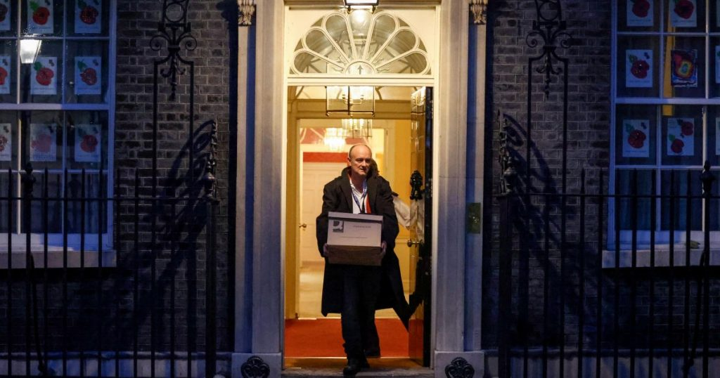 Cummings, a former adviser to the British Prime Minister, says his ex-employer secretly wants to pay for his expensive apartment.
