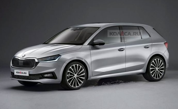 This is what the new Skoda Fabia could look like.  Do you like it?