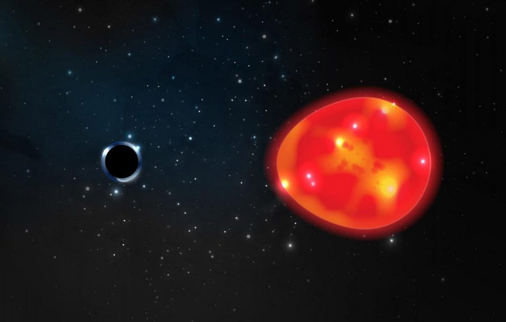 Astronomers have discovered the smallest black hole.  It lies in record close proximity to the ground - T24 - Czech TV