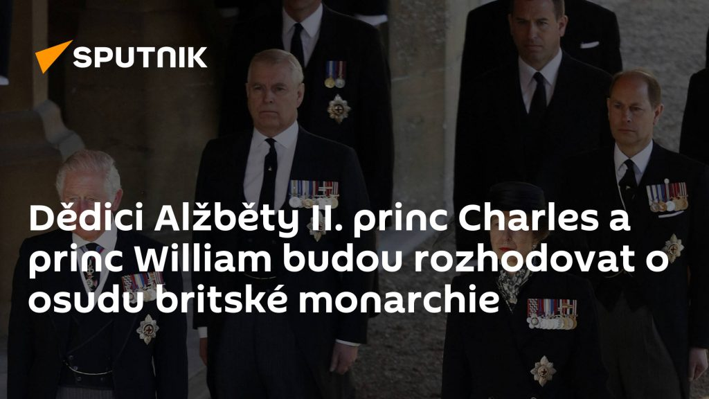 Heirs of Elizabeth II.  Prince Charles and Prince William will decide the fate of the British monarchy