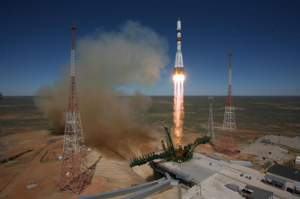 How do you get a person into space?  The Russian expedition begins in the Ryazan mud - CT24 - Czech TV