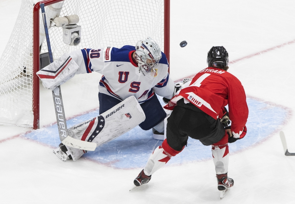 Knight defeated Canada and ended the Americans waiting for a new junior title - Czech TV - Czech TV
