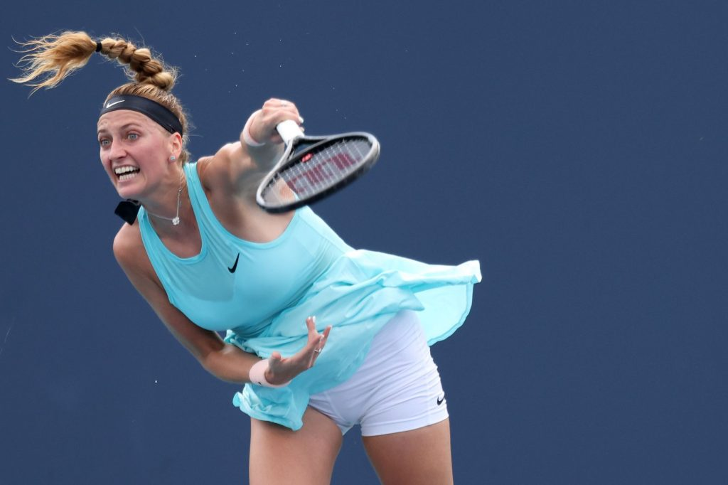 Newly fortified Kvitova: It upsets me to play without spectators, it's hard for me to force myself