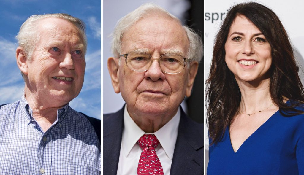 The 10 most generous American billionaires.  Who gives the most?
