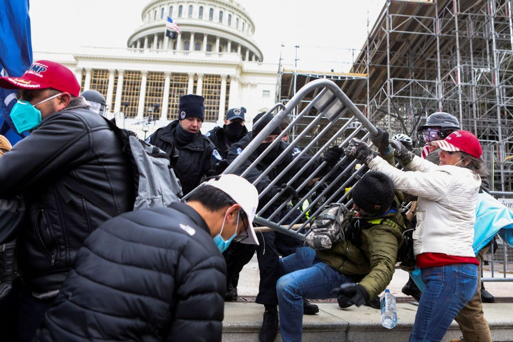 The first person accused of committing riots in the Capitol has pleaded guilty, and wants a lighter sentence