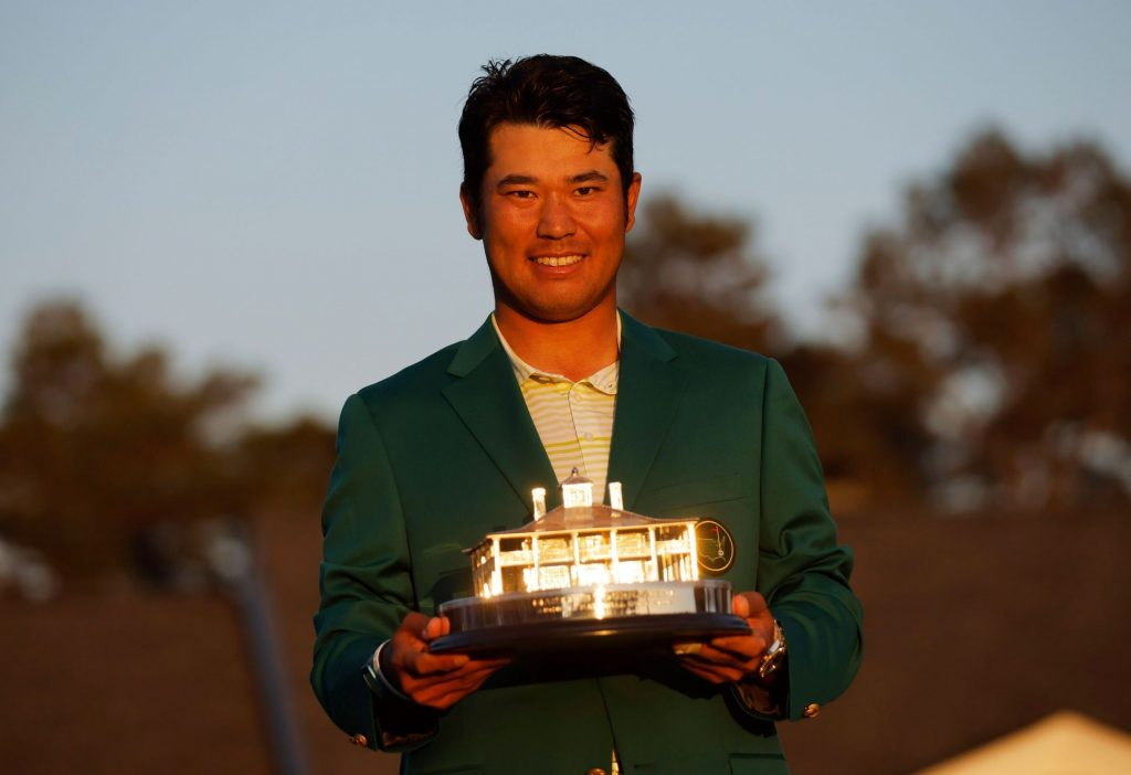 The popular green jacket was first bought by an Asian.  Japanese Matsuyama won the Masters Tournament