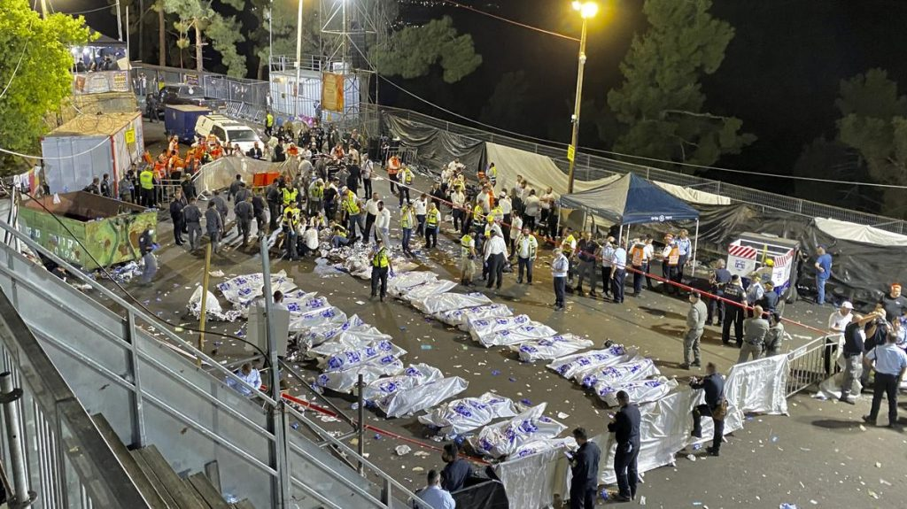 Tragedy in Israel: Dozens killed in the crowd after the stage collapsed