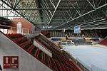 Reconstruction of the roof of the Winter Stadium began in Olomouc on May 5, 2021