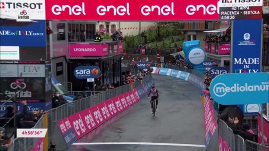 Giro Ditalia 2021 |  American Dombrovsky won the fourth stage, and the new leader is De Marchi