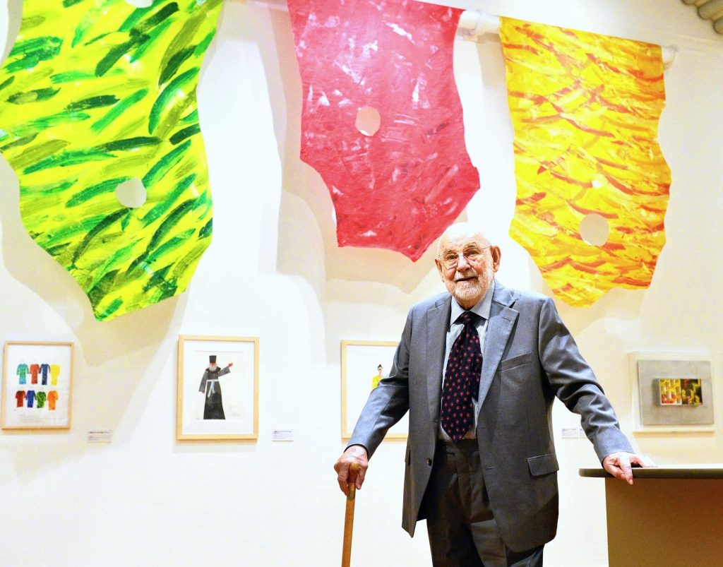 Children's book author Eric Carle dies.  Best known for its voracious caterpillar story