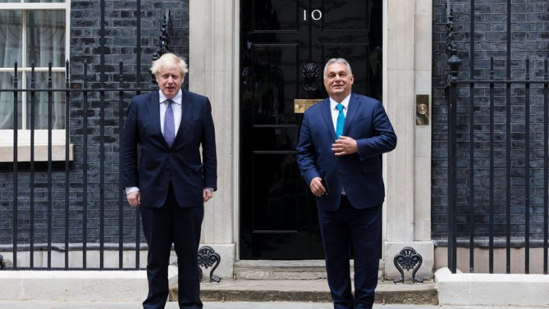 There is no UK in Hungary in the EU, Orban told Johnson - EURACTIV.cz