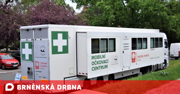 The hospital is understaffed, and the vaccination capacity of non-profit organizations remains untapped by the health of Brněnská Drbna news