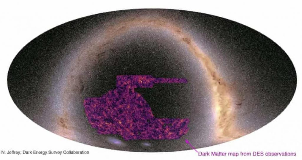 Astrophysicists have created the most accurate map of dark matter in the universe.  Reality does not correspond to theory - ČT24 - Czech television