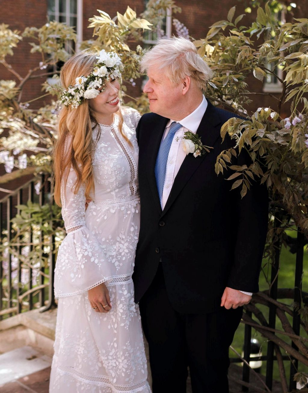 British Prime Minister Johnson remarried after two divorces.  The wife is younger than 23 years old