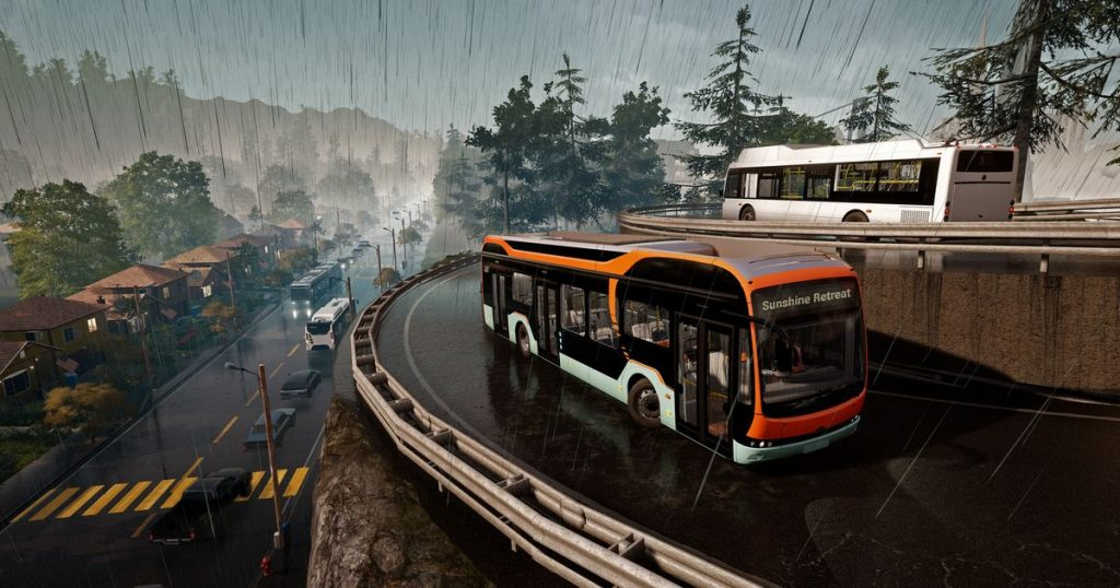Bus Simulator 21 attracts both bus management and companies