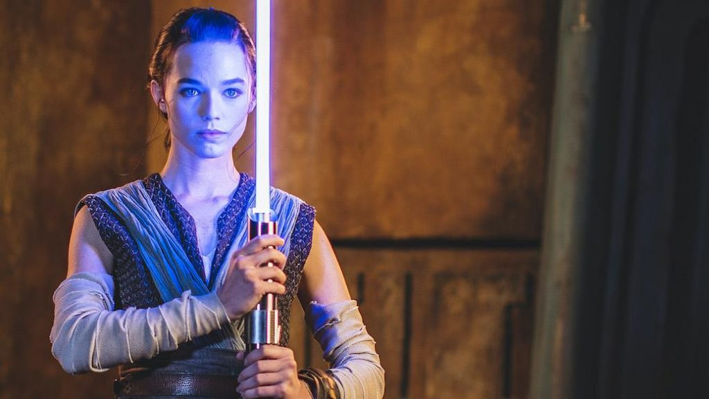 Disney unveiled the most realistic lightsaber