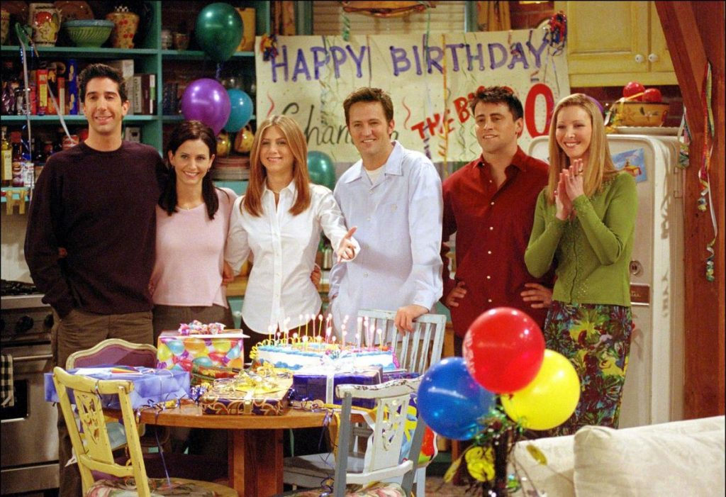 Everyone would like to have such friends.  Czech Chandler, Ross, Joey, Monica, Phoebe and Rachel remember - T24 - Czech TV