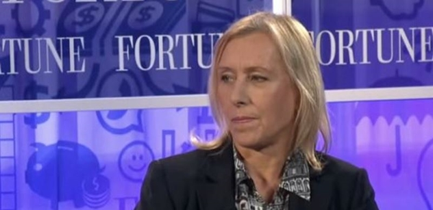 In the US, they want the head of Martina Navratilova.  She championed women's sports