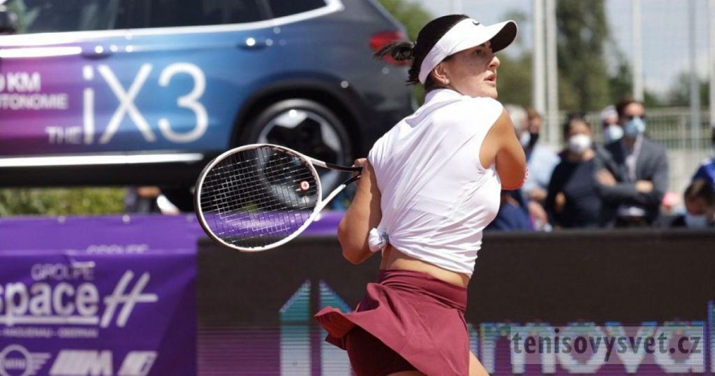 Is she cursed?  Andreescu is once again upset about her health against Roland Garros, and he has resigned from Strasbourg