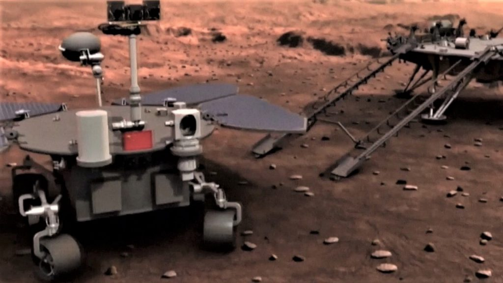 Mars and the Moon are our island, the Chinese report, and a plan to dominate space