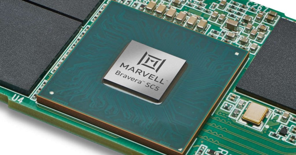 Marvell has its first PCIe 5.0 SSD, and it will hit 14GB / s
