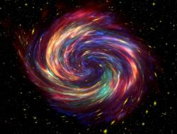 What was the shape of the universe in the first microsecond?  Credit: CC0 Public Domain.