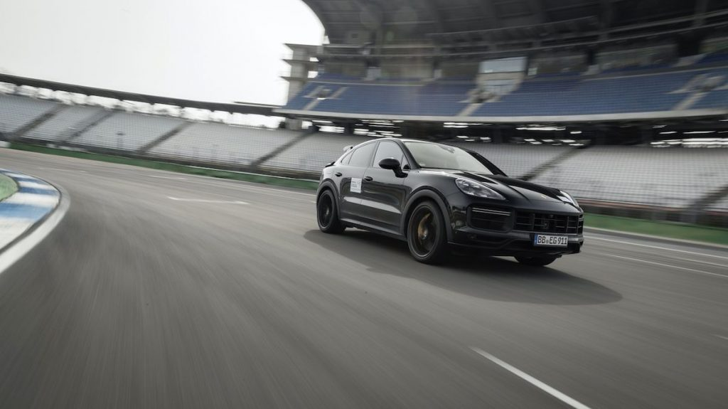 Porsche is preparing for the most powerful Cayenne in history, as Lamborghini Urus calls it
