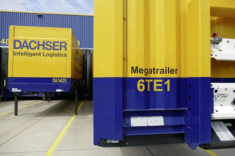 Providing more cargo space, DACHSER is converting into mega trailers
