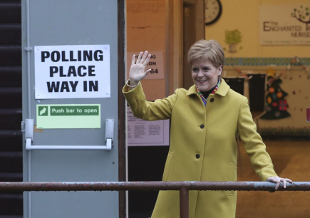 Sturgeon told the government that the court would only block a referendum on Scotland's independence