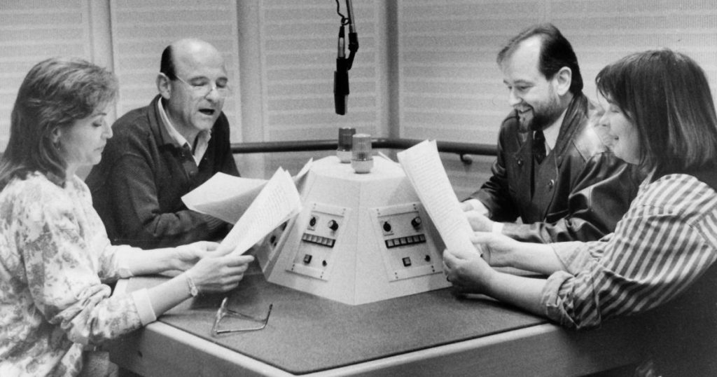 The voice of free Czechoslovakia calls.  Radio Free Europe has been broadcasting for 70 years
