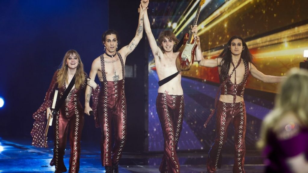 The winner of the Eurovision Song Contest is Måneskin Group