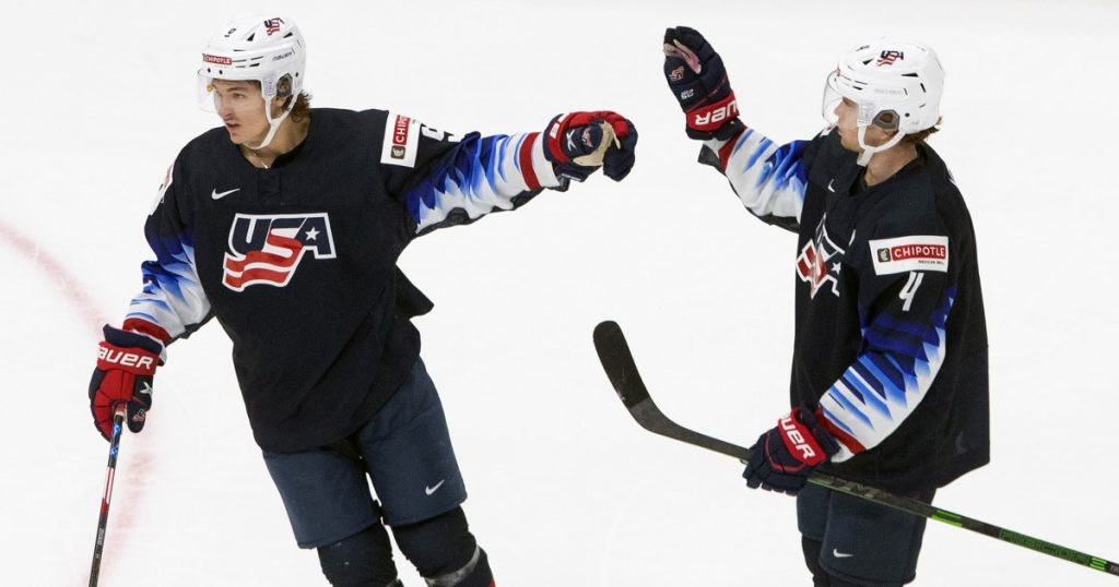 Zigras defeated the United States over the Czech Republic at the Junior World Championships