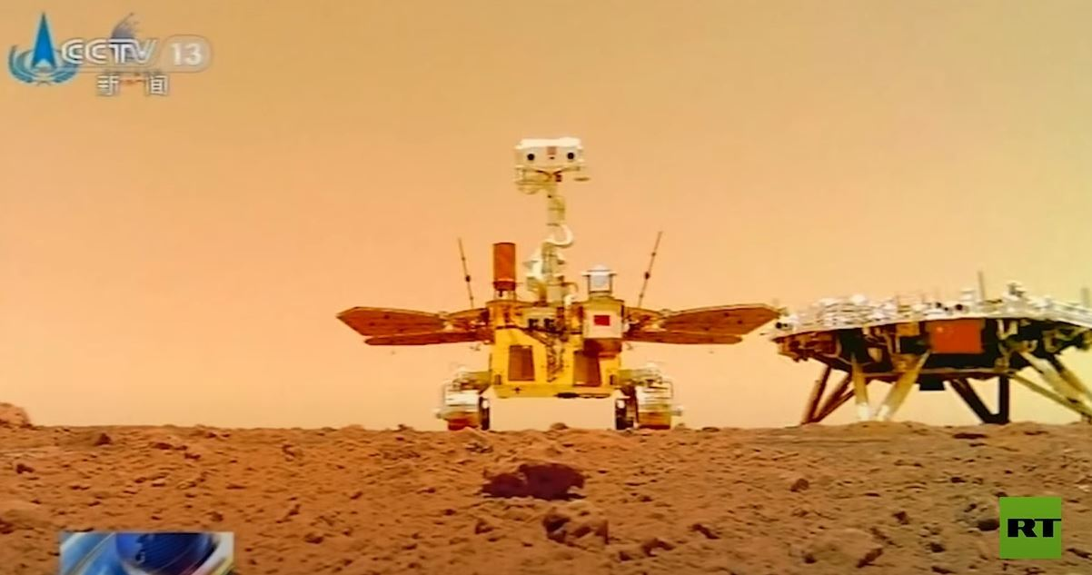 China publishes new images of Mars showing its flag on the red planet  - 1623744153 959 China lays out plans for future space studies - China lays out plans for future space studies