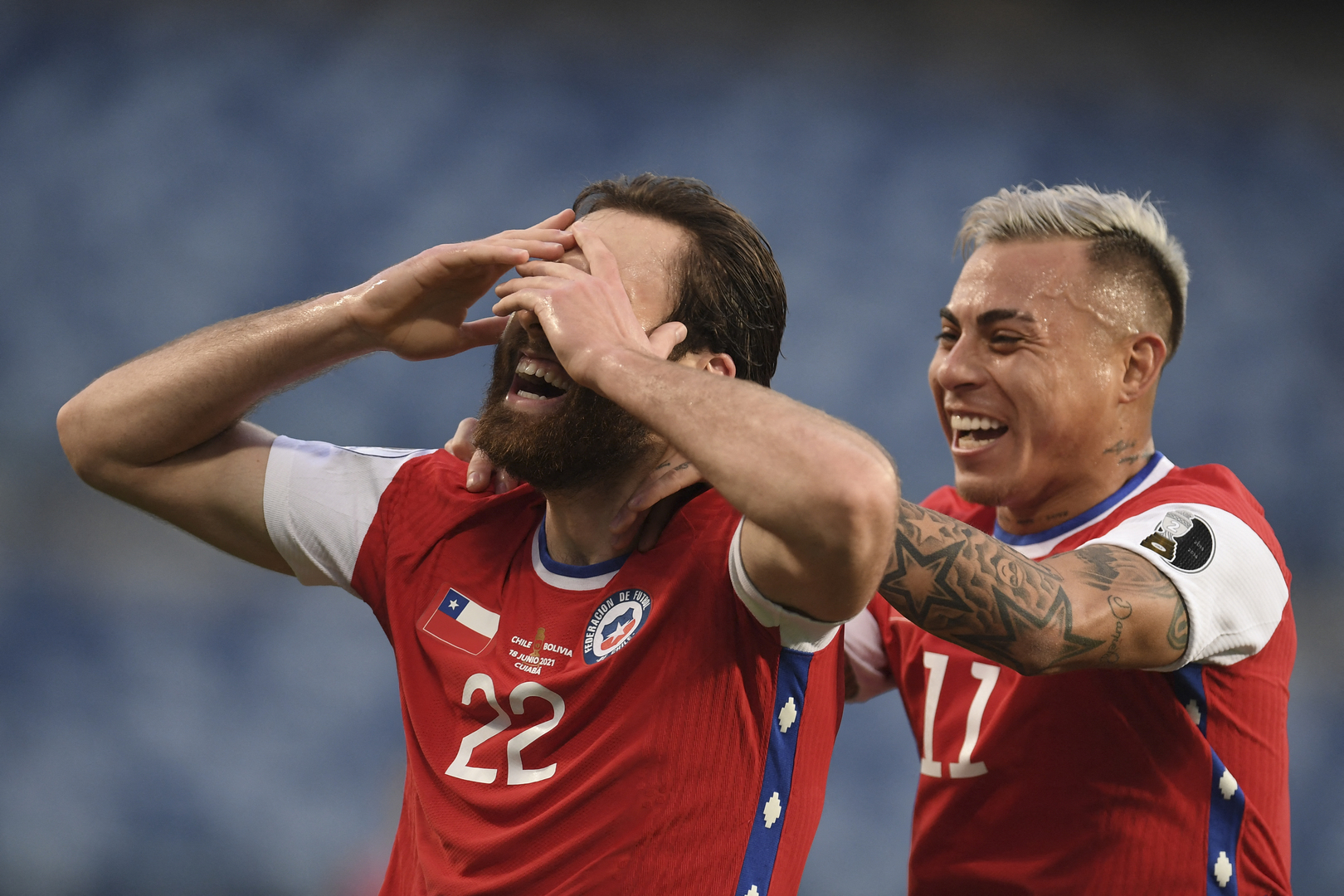 Video: Chile beat Bolivia with an English goal in the Copa America