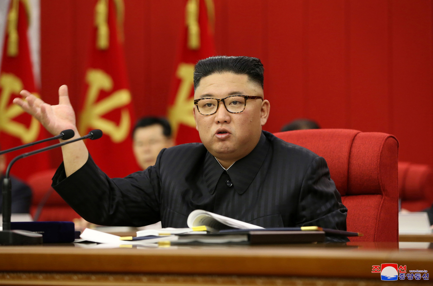 In a rare comment.. North Korean official TV reports that people are concerned about Kim's weight loss