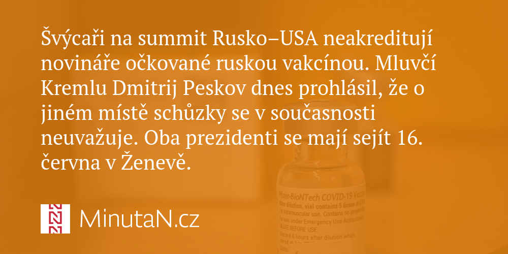 At the Russia-US summit, Swiss journalists were not vaccinated by the Russian vaccine
