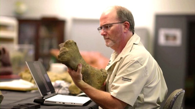 Australutean.  Paleontologists have identified one of the largest dinosaurs in the world