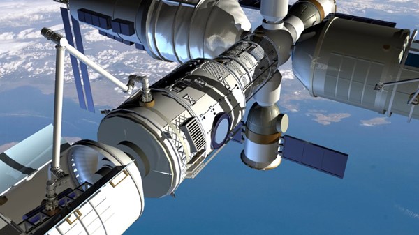 Beijing is preparing to launch a space mission to complete the construction of the Chinese space station