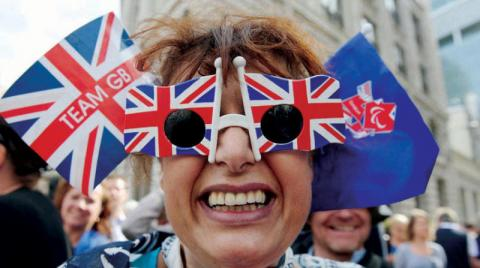 Britain was less fortunate in their country's wealth in Western Europe
