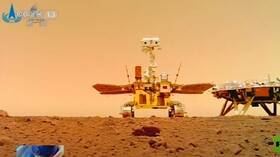 China publishes new images of Mars showing its flag on the red planet  - China lays out plans for future space studies - China lays out plans for future space studies