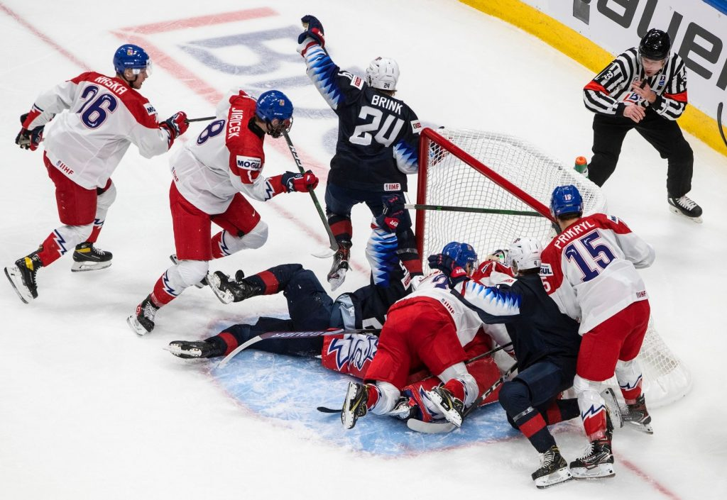 Czech hockey suffered twenty 0:7 defeats with the Americans in the World Cup