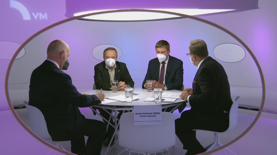 Hamic's claims about Czech reporters in Russia acknowledged by Fischer and Kobsa - 24T24 - Czech television