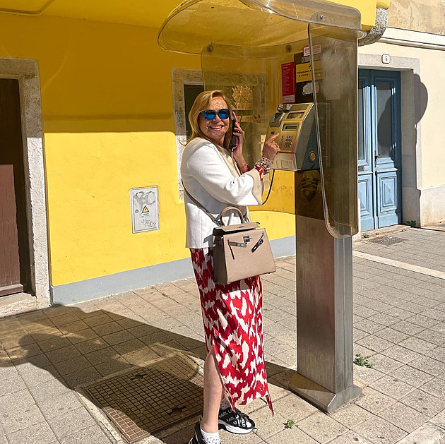 Havelov also went to Croatia: a magic phone scattered in the Adriatic