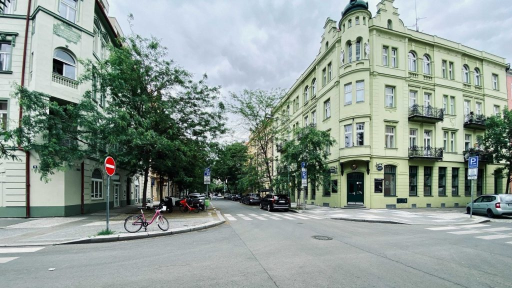 Křižíkova Street in Karlín has been voted one of the most beautiful streets in the world