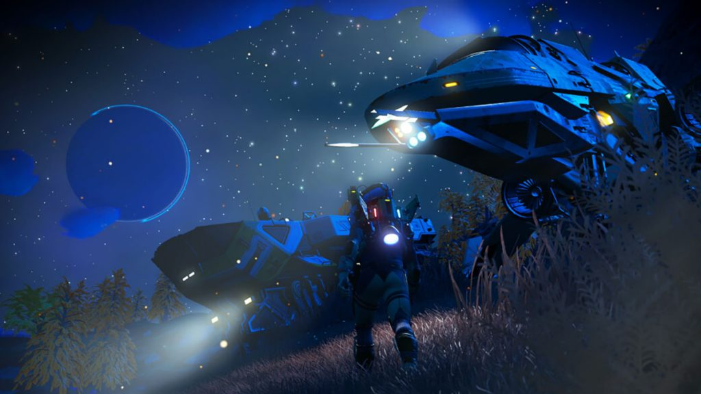 No Man's Sky has significantly improved the graphics this time