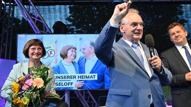 Surprise elections in Saxony Anhalt.  Instead of AfD, it was featured by CDU