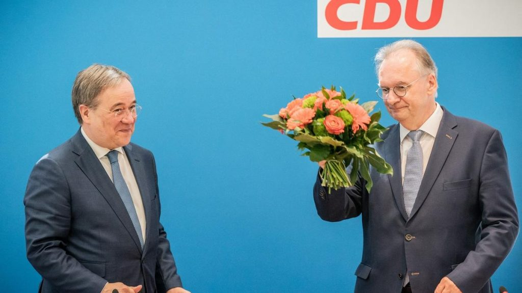 The CDU's boom, a blow to the Greens, showed a test ahead of the German elections